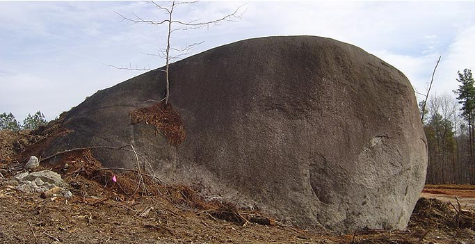 Boulder Outcropping Atlanta, GA